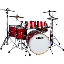 Dios 5-Piece Shell Pack Cherry Red Sparkle