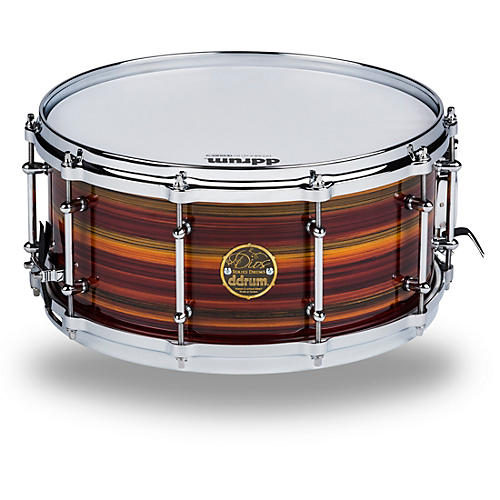 Ddrum Dios Maple Striped Lacquer Snare Drum