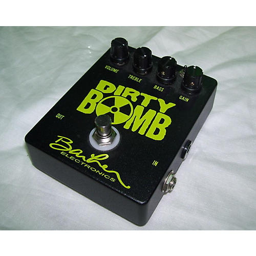 Barber Dirty Bomb Effect Pedal