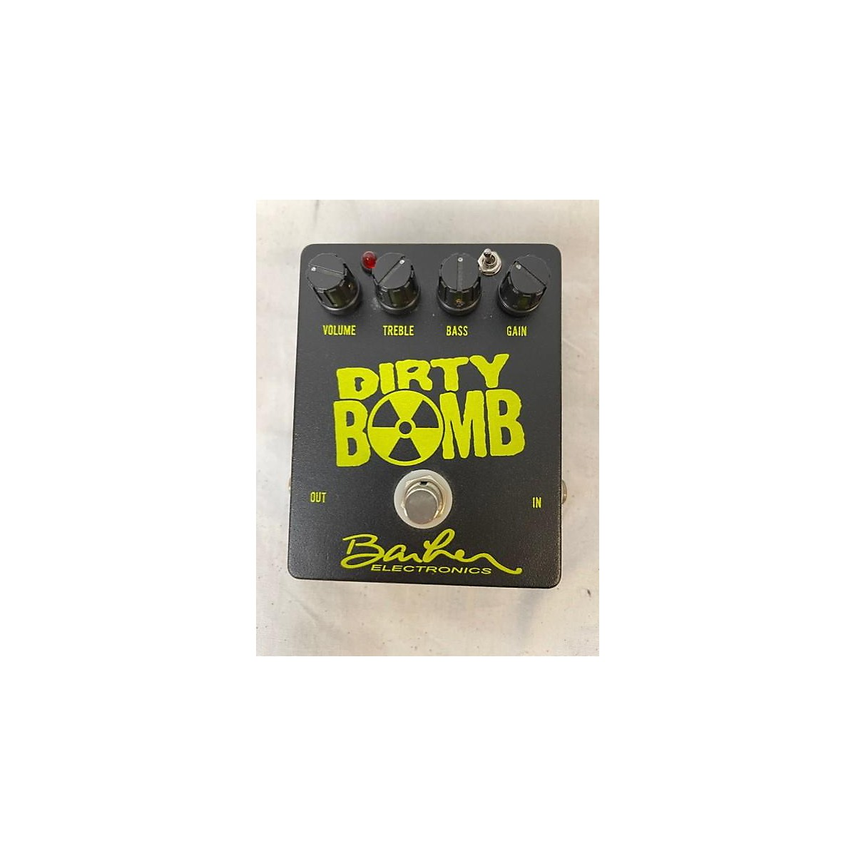 Baher Electronics Dirty Bomb Effect Pedal