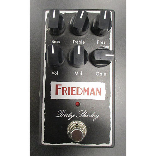 Friedman Dirty Shirley Effect Pedal