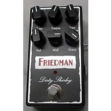 Friedman Dirty Shirley OD Effect Pedal