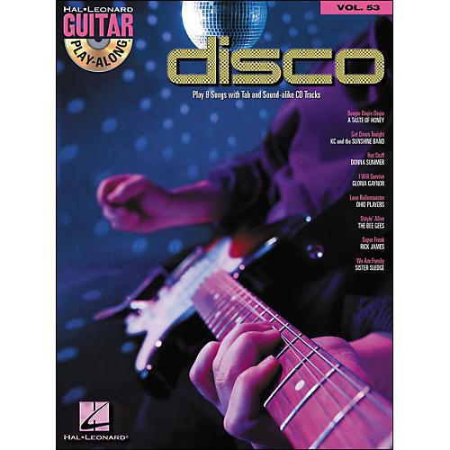 Hal Leonard Disco - Guitar Play-Along Volume 53 (Book/CD)