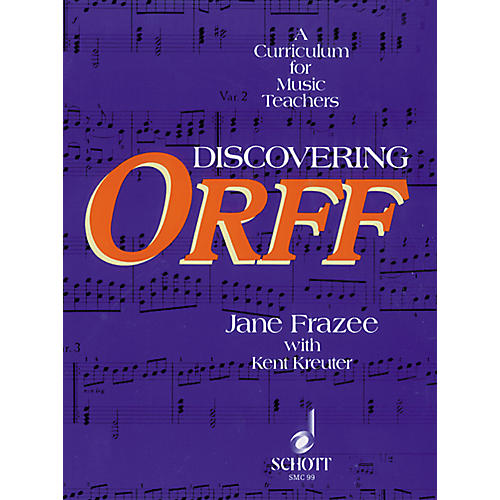 Alfred Discovering Orff Book