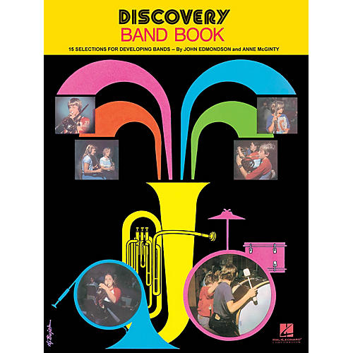 Hal Leonard Discovery Band Book #1 (Percussion) Concert Band Composed by Anne McGinty