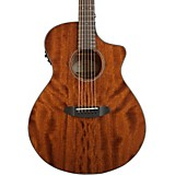 Breedlove Discovery Concert CE Mahogany Acoustic-Electric Guitar Natural
