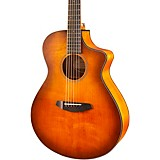 Breedlove Discovery Concert CE Sitka Spruce-Mahogany Acoustic-Electric Guitar Bourbon Burst