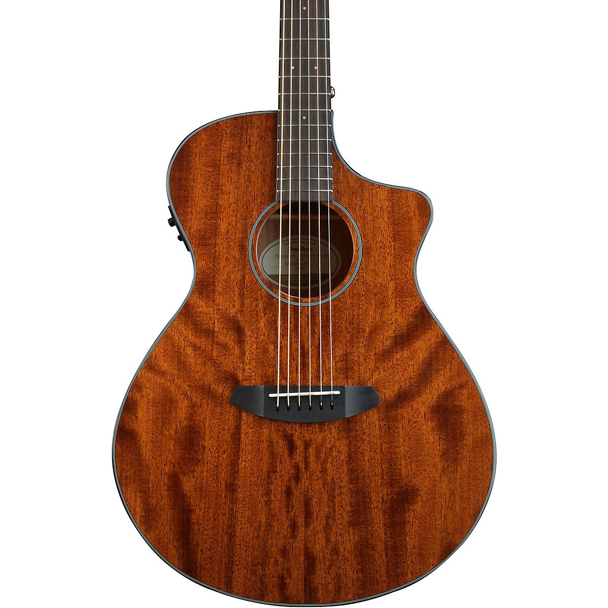Breedlove Discovery Concert Cutaway CE Mahogany-Mahogany Acoustic-Electric Guitar