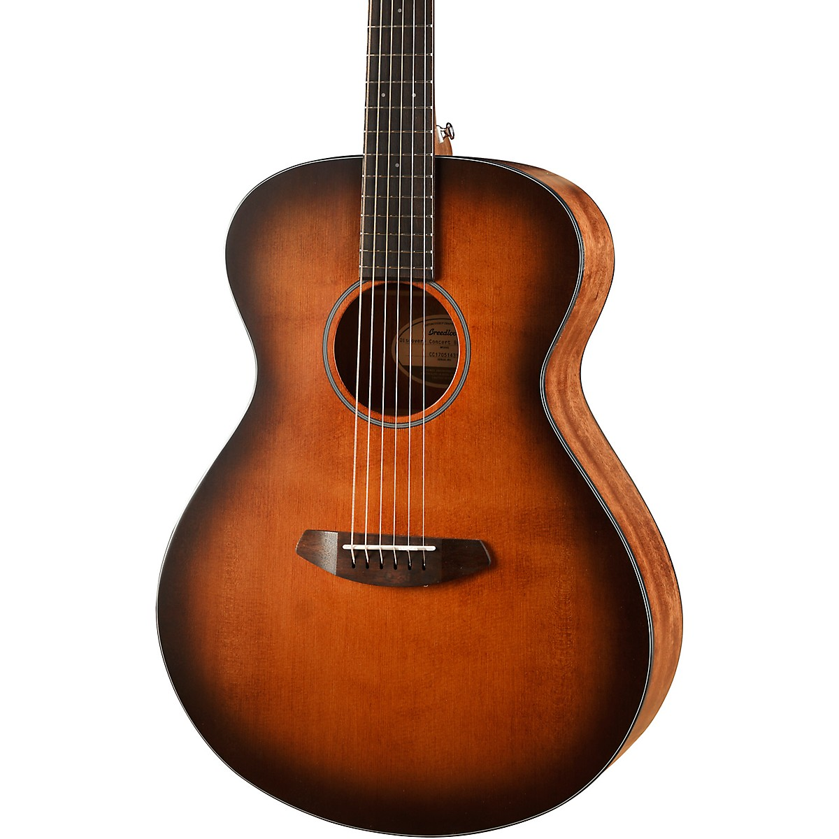Breedlove Discovery Concert Sitka Spruce-Mahogany Acoustic Guitar
