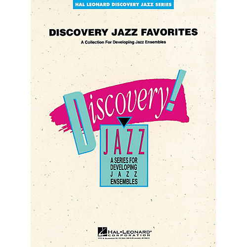 Hal Leonard Discovery Jazz Favorites - Baritone Sax Jazz Band Level 1-2 Composed by Various
