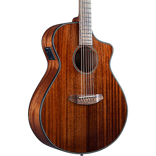 Breedlove Discovery S CE African Mahogany-African Mahogany HB Concert Acoustic-Electric Guitar