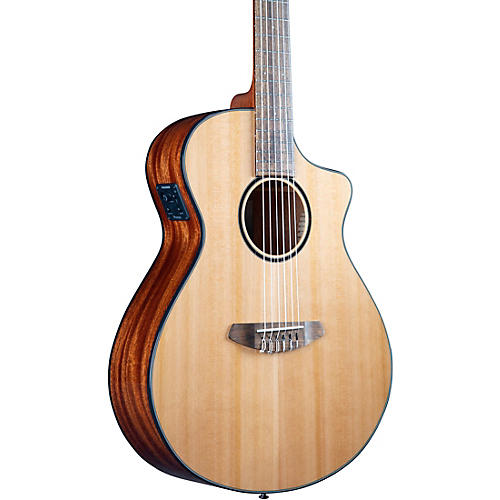 Breedlove Discovery S CE Cedar-African Mahog Concert Acoustic-Electric Classical Guitar