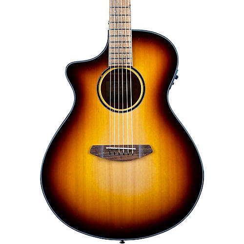 Breedlove Discovery S CE LH Red cedar-African Mahogany Concert Left Handed Acoustic-Electric Guitar