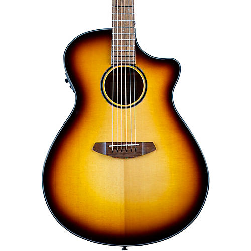 Breedlove Discovery S CE Sitka-African Mahogany Concerto Acoustic-Electric Guitar