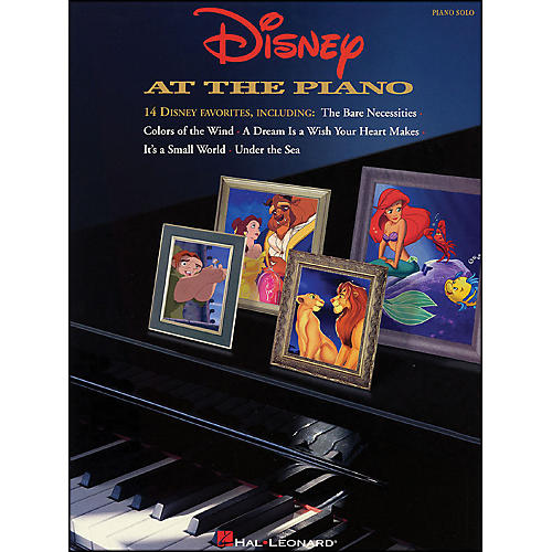 Hal Leonard Disney At The Piano arranged for piano solo