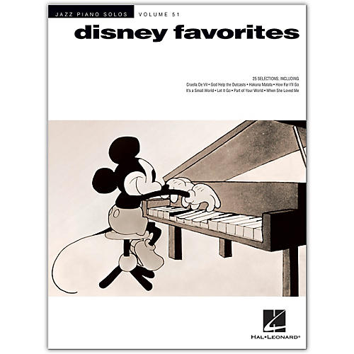 Hal Leonard Disney Favorites - Jazz Piano Solos Series Volume 51