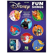 Hal Leonard Disney Fun Songs for Easy Piano