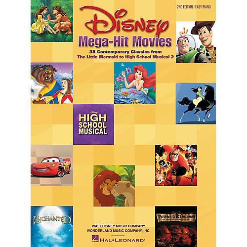 Hal Leonard Disney Mega-Hit Movies For Easy Piano