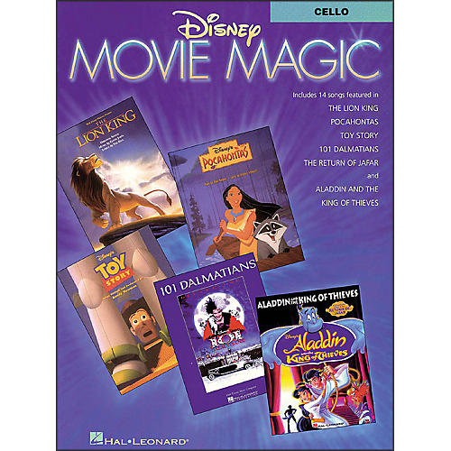 Hal Leonard Disney Movie Magic for Cello