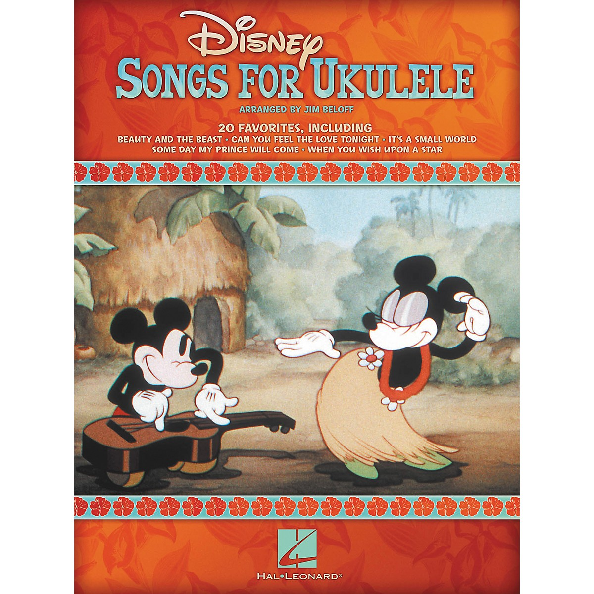 Hal Leonard Disney Songs For Ukulele