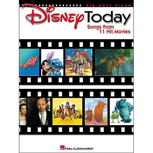 Hal Leonard Disney Today for Big Note Piano