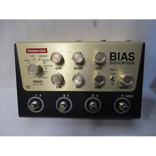 Bias Distortion Effect Pedal