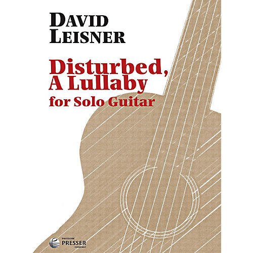Carl Fischer Disturbed, A Lullaby (Book)