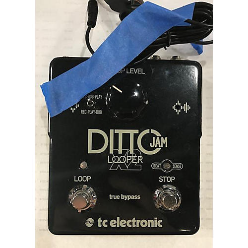 used tc electronic ditto jam x2 looper pedal guitar center. Black Bedroom Furniture Sets. Home Design Ideas