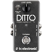 TC Electronic Ditto Stereo Looper Guitar Effects Pedal Level 1