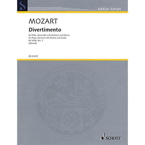 Schott Divertimento, K. 439b, No. 1 Ensemble Softcover by Wolfgang Amadeus Mozart Arranged by Siegfried Schwab