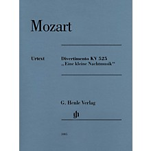 G. Henle Verlag Divertimento K525 Eine kleine Nachtmusik Henle Music Composed by Mozart Edited by Wolf-Dieter Seiffert