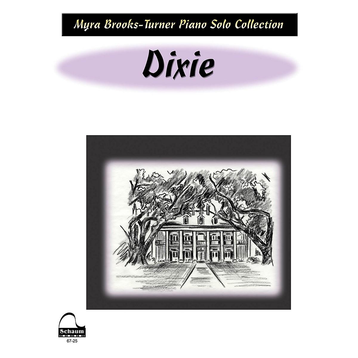 SCHAUM Dixie (NFMC 2016-2020 Federation Festivals Bulletin) Educational Piano Book (Level Early Advanced)