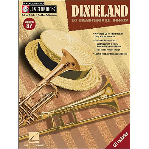 Hal Leonard Dixieland - Jazz Play-Along Volume 87 (Book/CD)