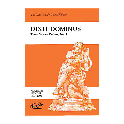 Novello Dixit Dominus (Vocal Score) SATB Composed by George Frederich Handel