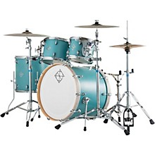 Dixon Cornerstone Maple 4-Piece Shell Pack Quetzal Blue