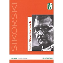Sikorski Dmitri Shostakovich Catalog of Works (2nd Edition) Misc Series Softcover