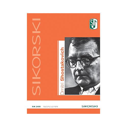 Sikorski Dmitri Shostakovich Catalog of Works (2nd Edition) Misc Series Softcover