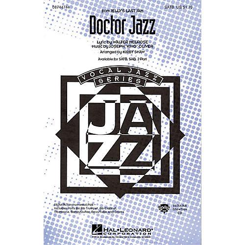 Hal Leonard Doctor Jazz SATB arranged by Kirby Shaw