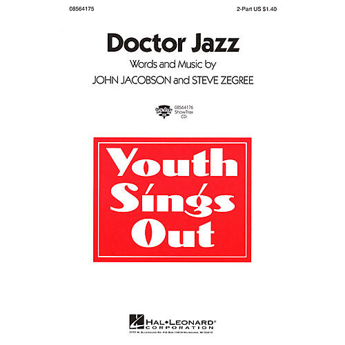 Hal Leonard Doctor Jazz ShowTrax CD Composed by John Jacobson