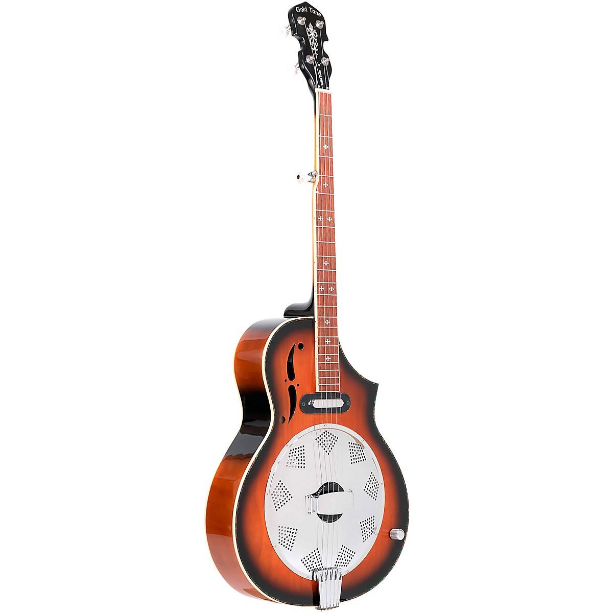 Gold Tone Dojo DLX 5-String Acoustic-Electric Resonator Banjo