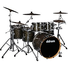 Dominion Birch 6-piece Shell Pack with Ash Veneer Trans Black