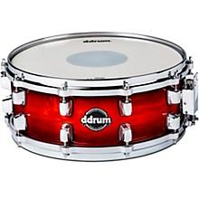 Dominion Birch Snare Drum with Ash Veneer 14 x 5.5 in. Red Burst