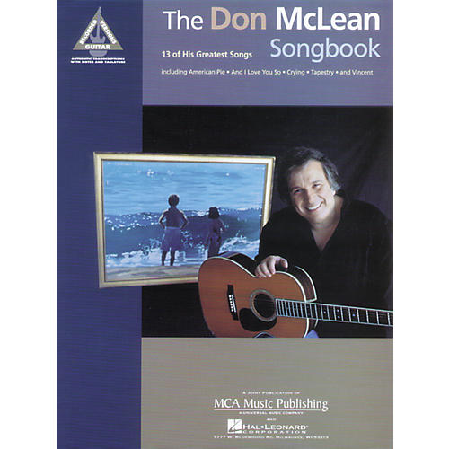 Alfred Don McLean Songbook (Guitar-Tablature)