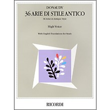 Hal Leonard Donaudy:  36 Arie Di Stile Antico for High Voice