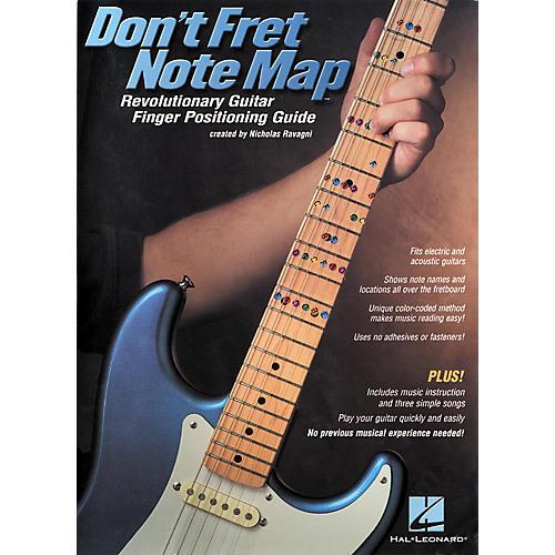 Hal Leonard Don't Fret Note Map