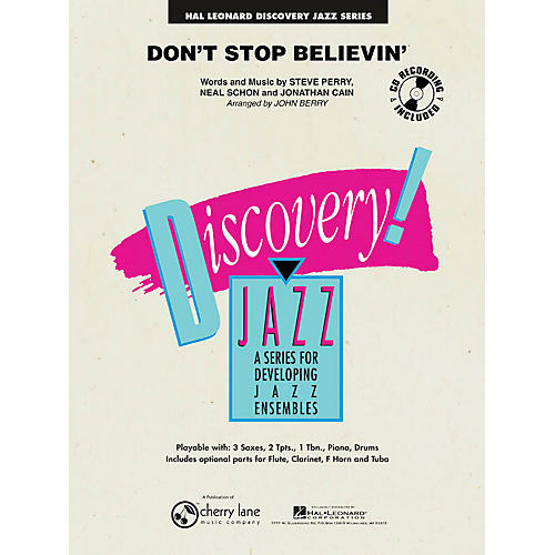 Cherry Lane Don't Stop Believin' Jazz Band Level 1-2 Arranged by John Berry