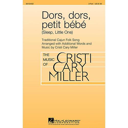 Hal Leonard Dors, dors, petit bébé (Sleep, Little One) 2-Part arranged by Cristi Cary Miller