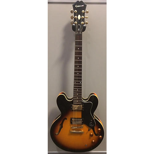 Epiphone Dot Deluxe Flametop Hollow Body Electric Guitar