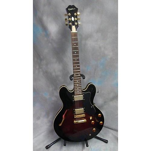 Epiphone Dot Deluxe Flametop Hollow Body Electric Guitar