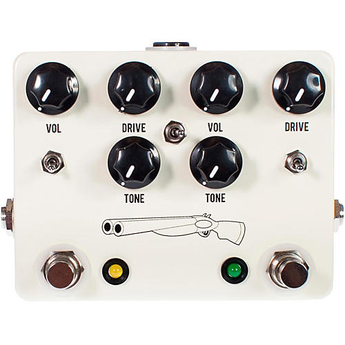 JHS Pedals Double Barrel Dual Overdrive Guitar Effects Pedal